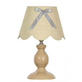 Candellux Whilma  lampka nocna 41-63861 cappuccino,  41-641273 szary